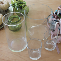 DIY: Fall & Winter Candle Holders