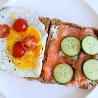 Sunday Lunch: Gerookte zalm & Gebakken ei